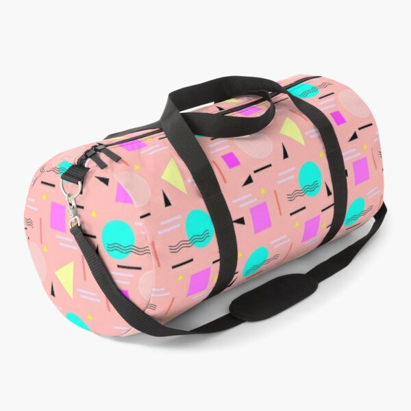 Memphis Forever - Peach Duffle Bag