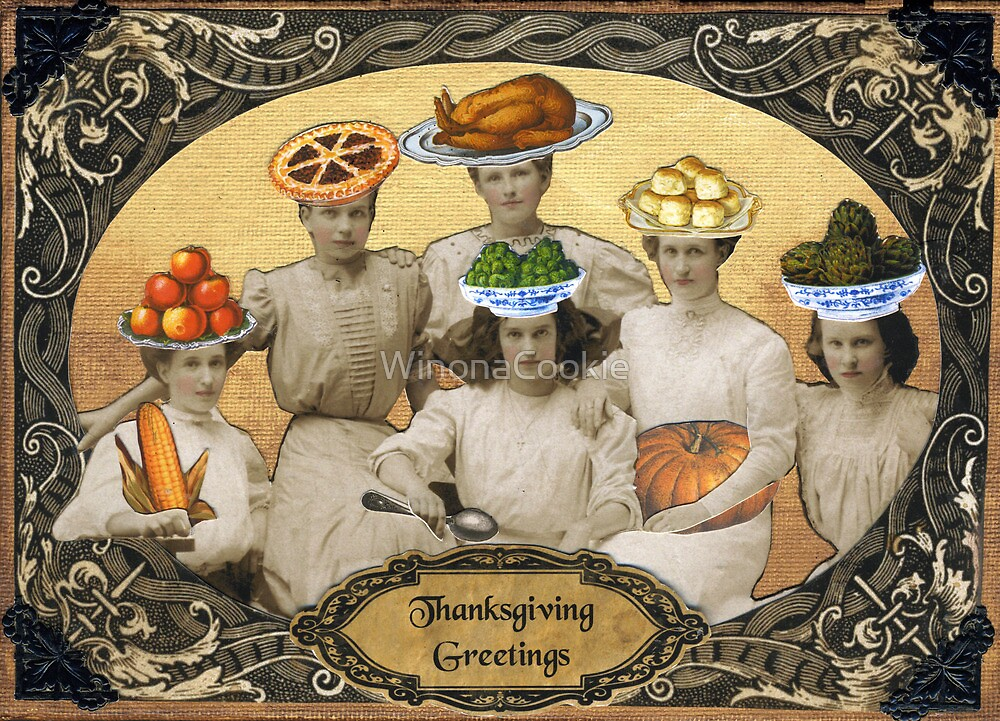 Thanksgiving Greetings by WinonaCookie