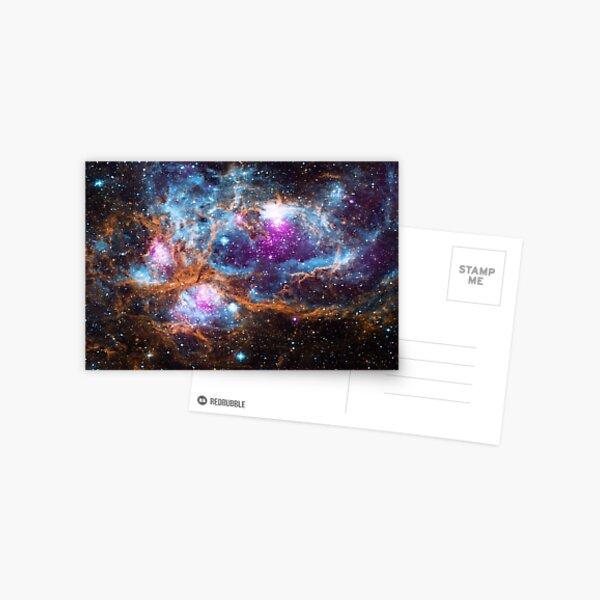 Hubble Supernova Spacetime Postcard