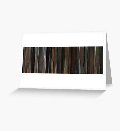 Moviebarcode: Walker Payne (2006)  Greeting Card
