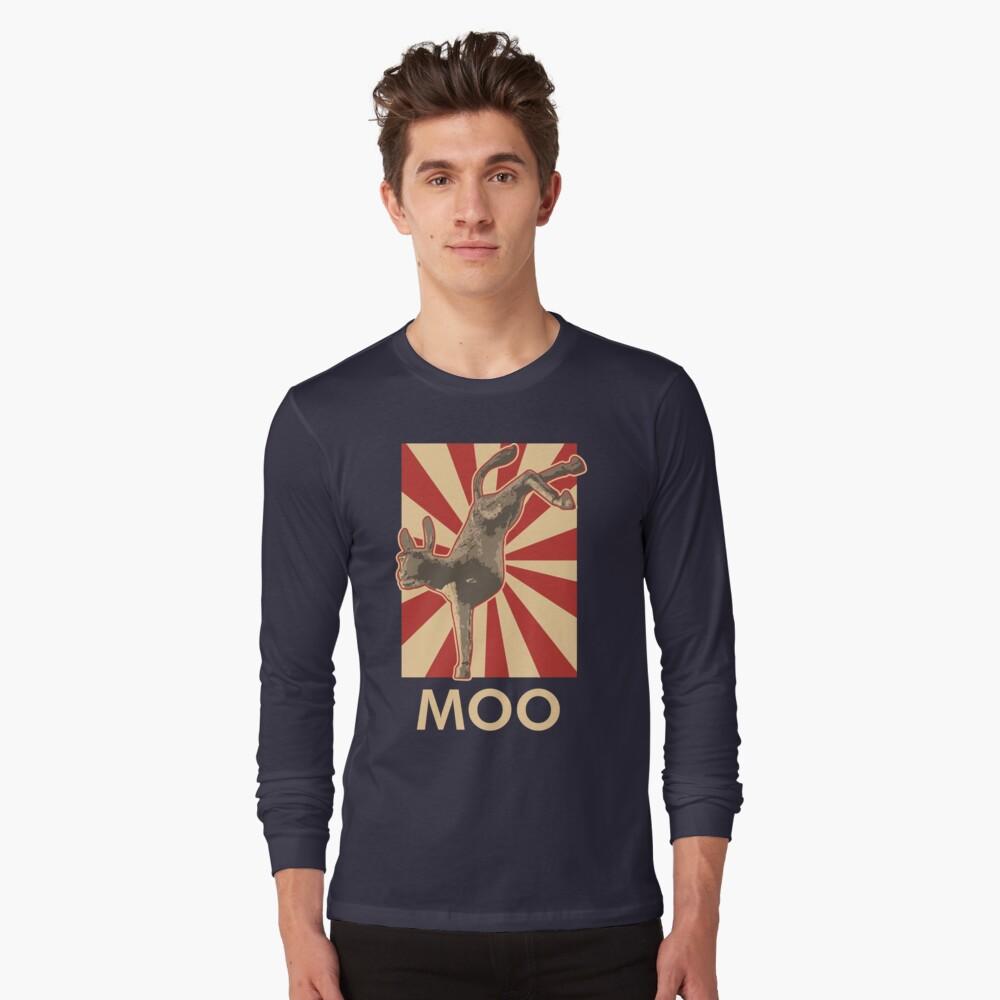 Moo Long Sleeve T-Shirt