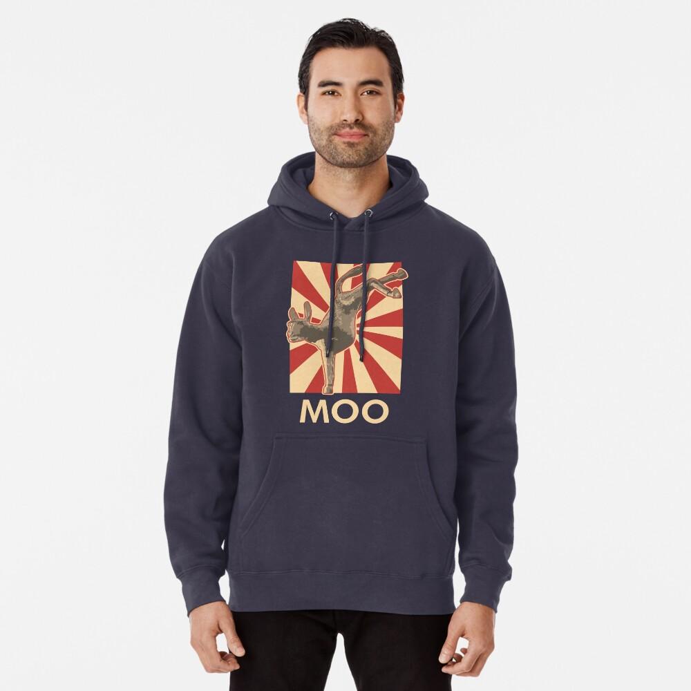 Moo Pullover Hoodie