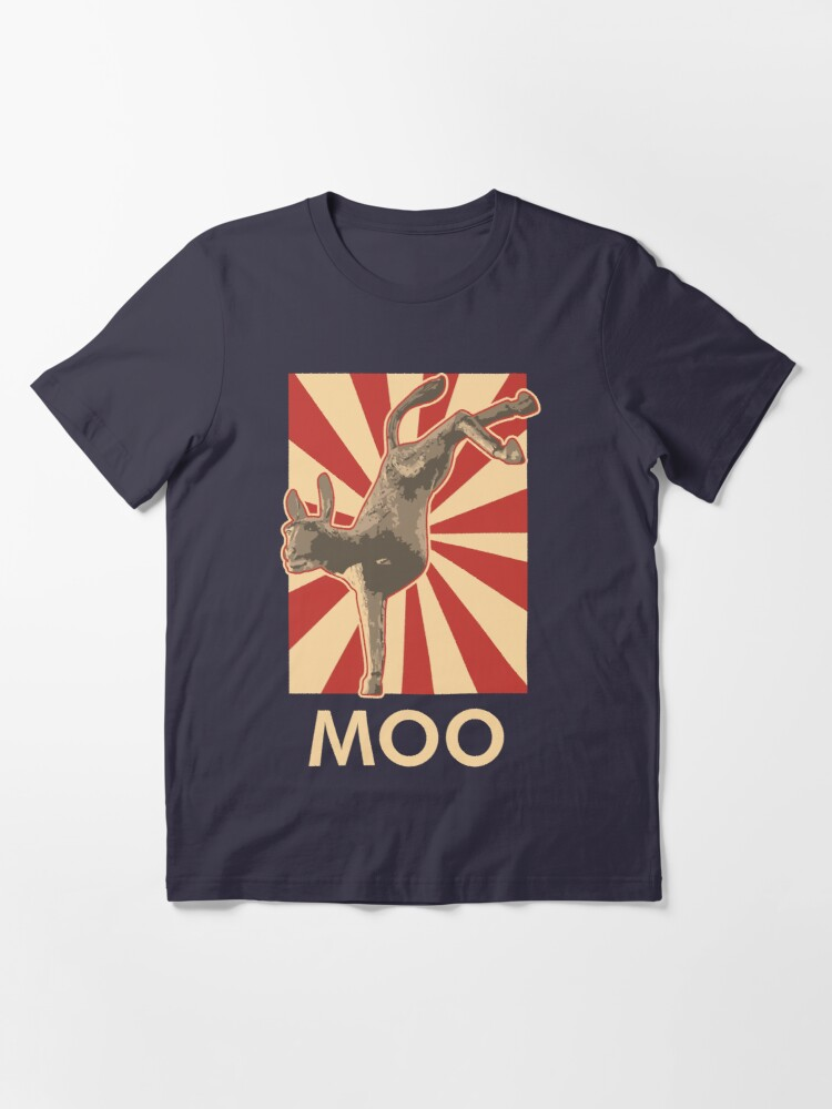 Alternate view of Moo Essential T-Shirt