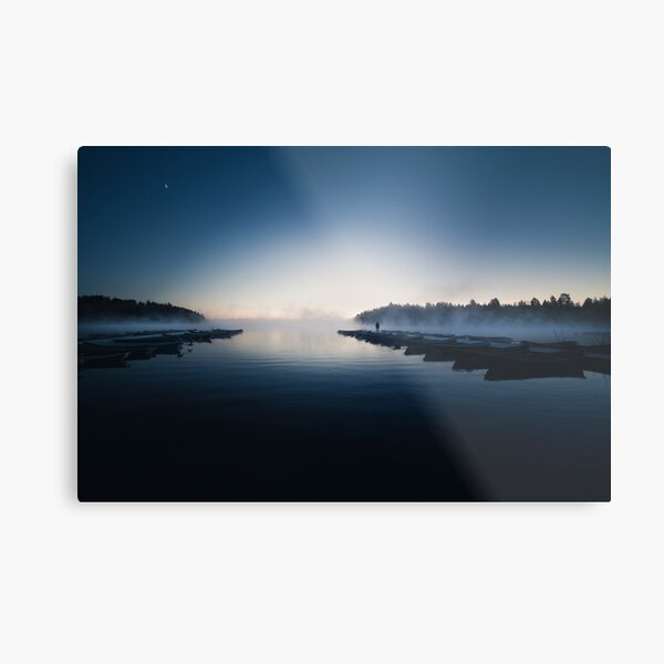 We are all lost stars, and we  trying to light up the dark! Metal Print