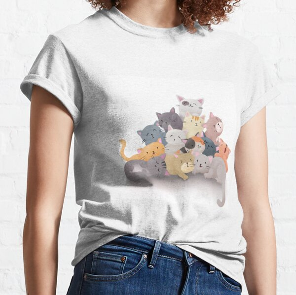 Meowntain of Cats Classic T-Shirt