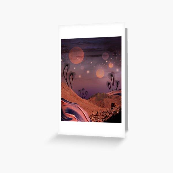 Elsewhere - surreal landscape Greeting Card