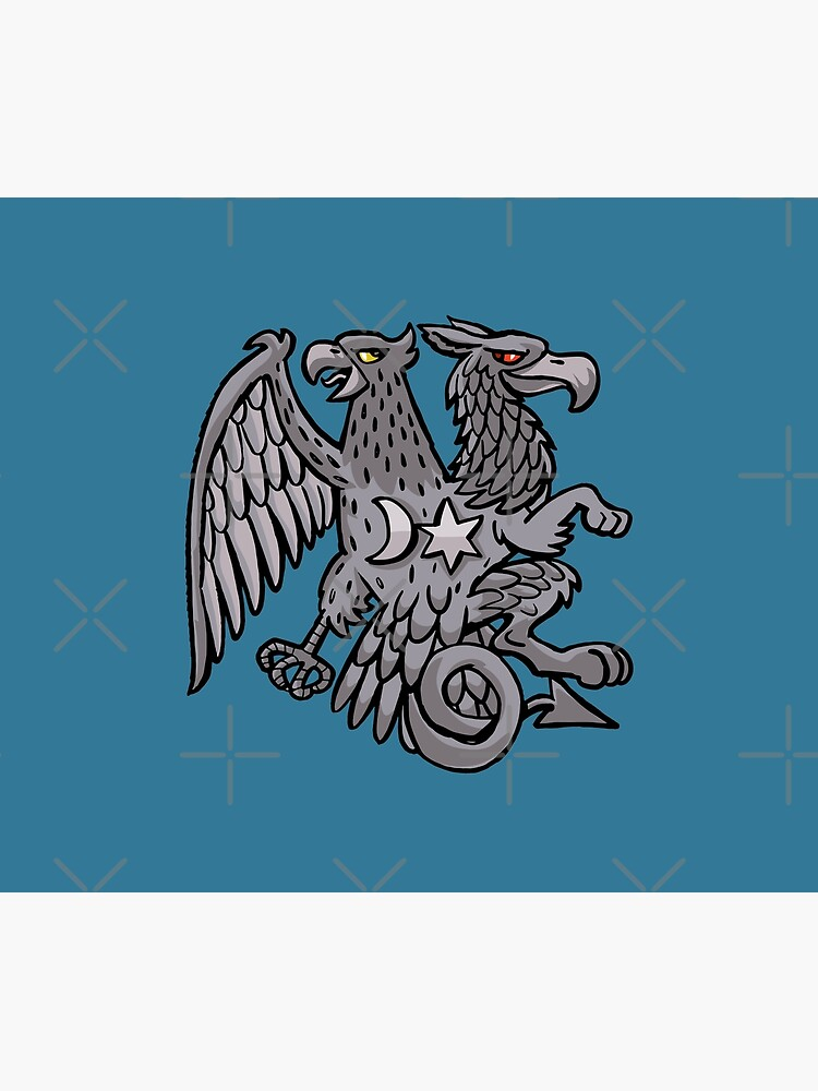 eagle and griffin symbol by duxpavlic