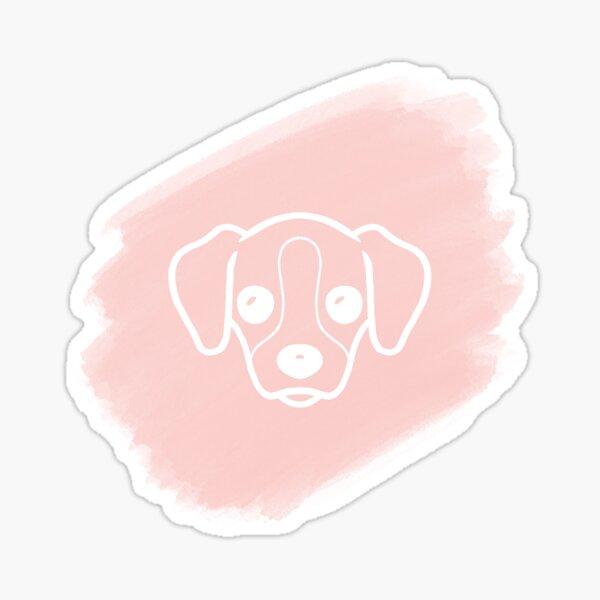 Dog watercolor Sticker