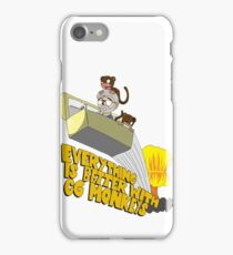 Everything is Better with CG monkies iPhone Case/Skin