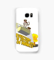 Everything is Better with CG monkies Samsung Galaxy Case/Skin