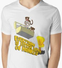 Everything is Better with CG monkies Men's V-Neck T-Shirt