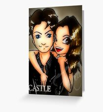castle promo fanart Greeting Card