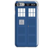Tardis Police Box iPhone Case/Skin