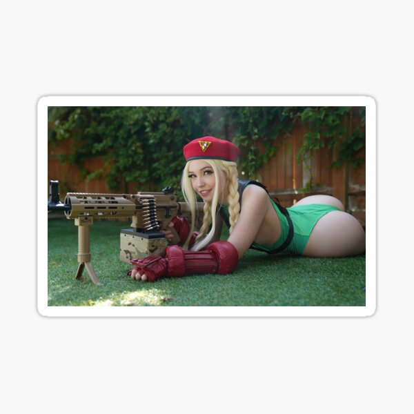 Belle Delphine Onlyfans Exclusive - SF Cammy Sticker