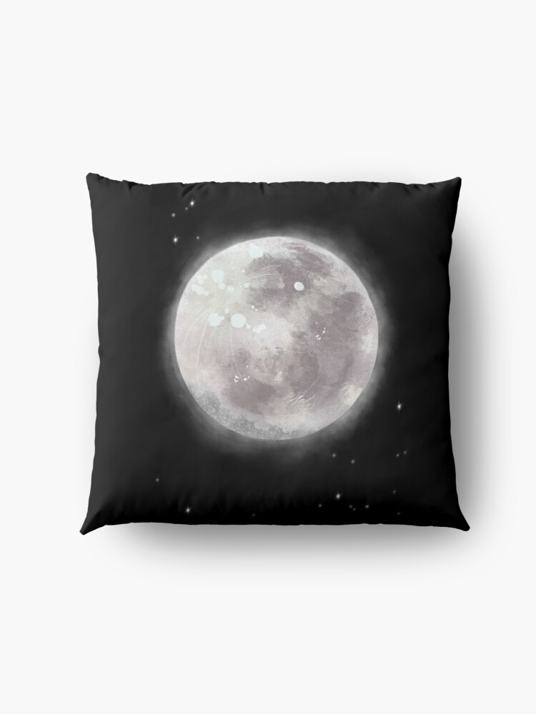 Alternate view of The Moon Floor Pillow