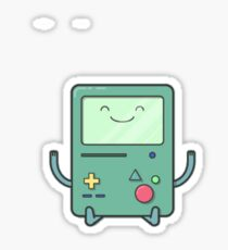 BMO smile. Sticker