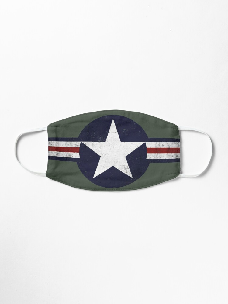 Alternate view of Roundel of the USAF distressed Mask
