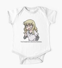 Your breasts have ruined my christmas! (Yuru yuri) One Piece - Short Sleeve