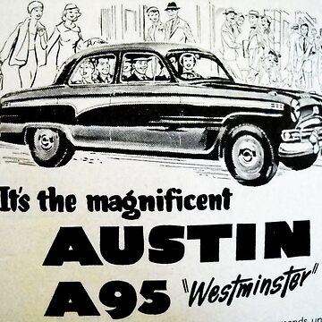 Austin a95 by kaleidoscopecreation