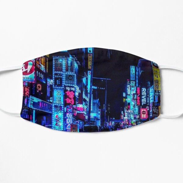 blade runner nights Flat Mask