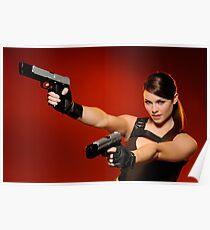 Guns Girl Poster