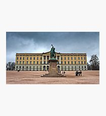 Royal Palace Oslo, Norway Photographic Print