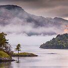 Mist over Loch Leven by kernuak