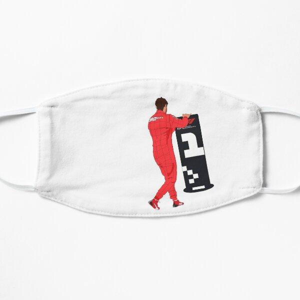 Ferrari driver Sebastian Vettel moves the #1 sign Flat Mask