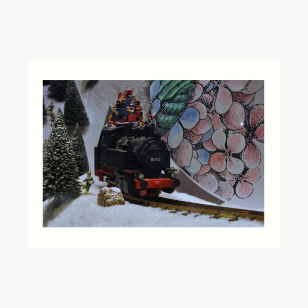 Christmas is arriving Art Print