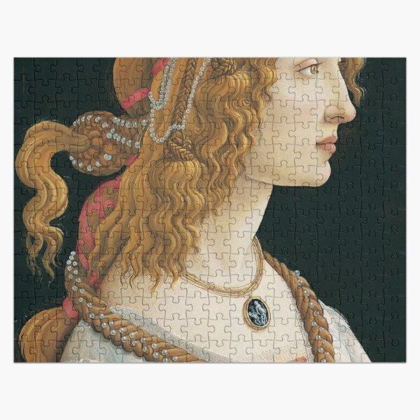 Portrait of a Young Woman (Botticelli, Frankfurt) Jigsaw Puzzle