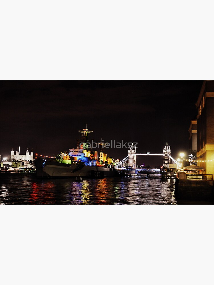 Presenting HMS Belfast by gabriellaksz