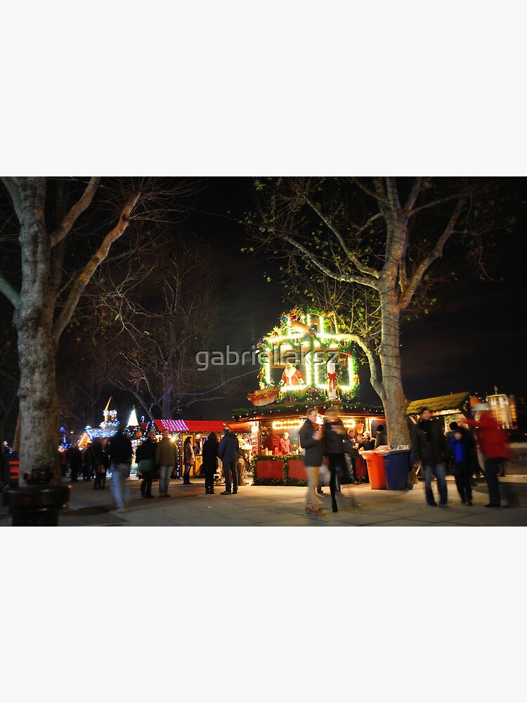 Christmas market by gabriellaksz