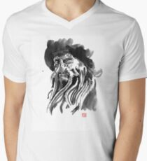 davy jones Men's V-Neck T-Shirt