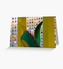 Legos Greeting Card