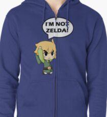 I'm Not Zelda Zipped Hoodie