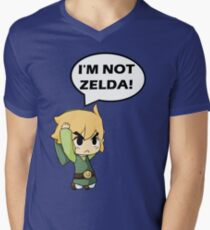 I'm Not Zelda Men's V-Neck T-Shirt