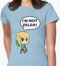 I'm Not Zelda Women's Fitted T-Shirt