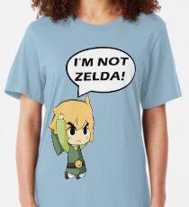 Je ne suis pas Zelda T-shirt ajusté