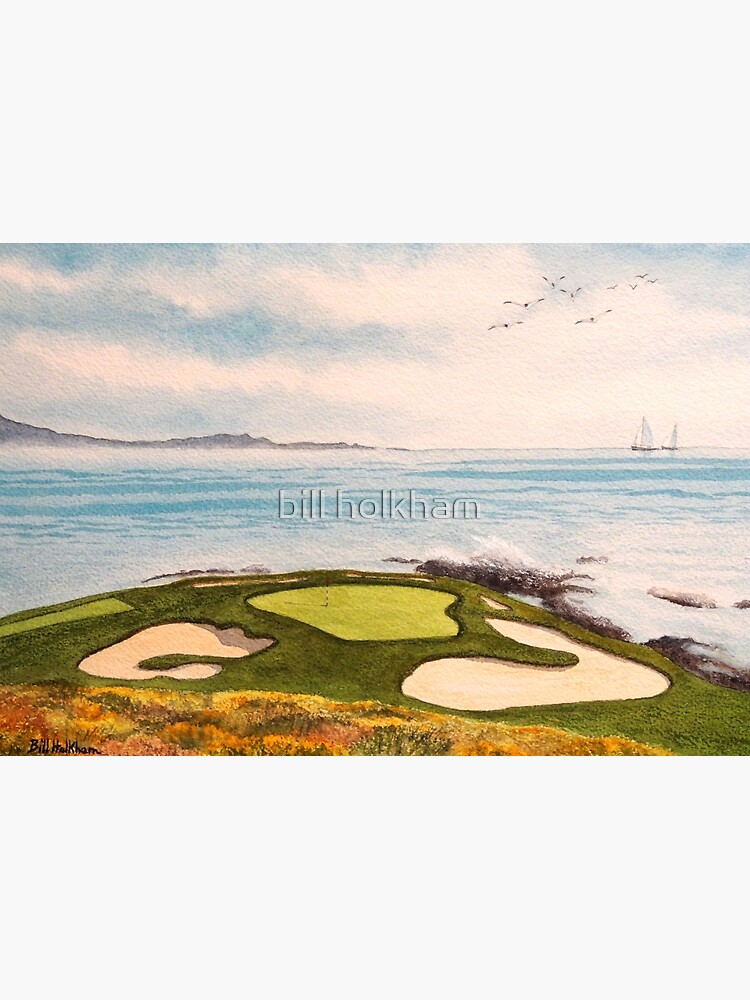 Pebble Beach Golf Course Signature Hole 7 by billholkham