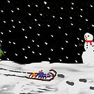 Christmas snow by Mark Walker
