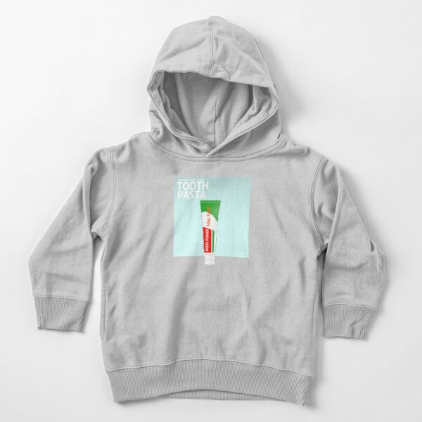 Toothpaste (Literal Danish) - Tooth Pasta Toddler Pullover Hoodie