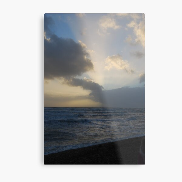 A Little Ray of Light Metal Print