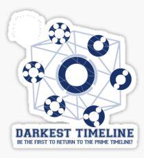 Darkest Timeline: The Game! Sticker