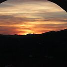 sunset through the arch 2013 by Perggals© - Stacey Turner