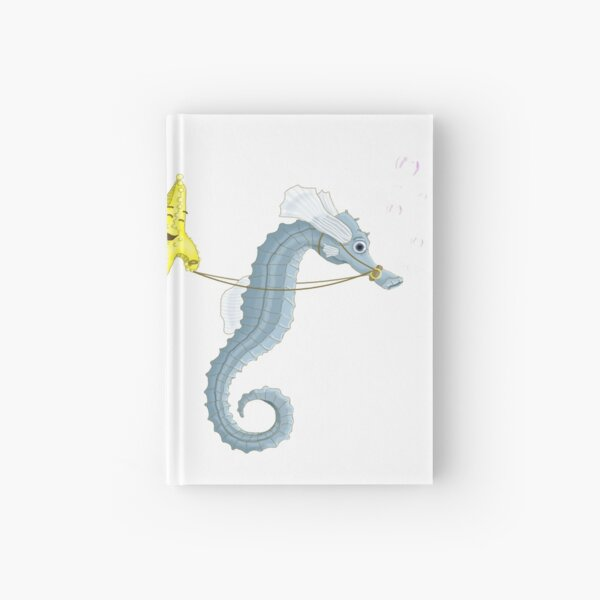 A Aquatic rodeo Hardcover Journal