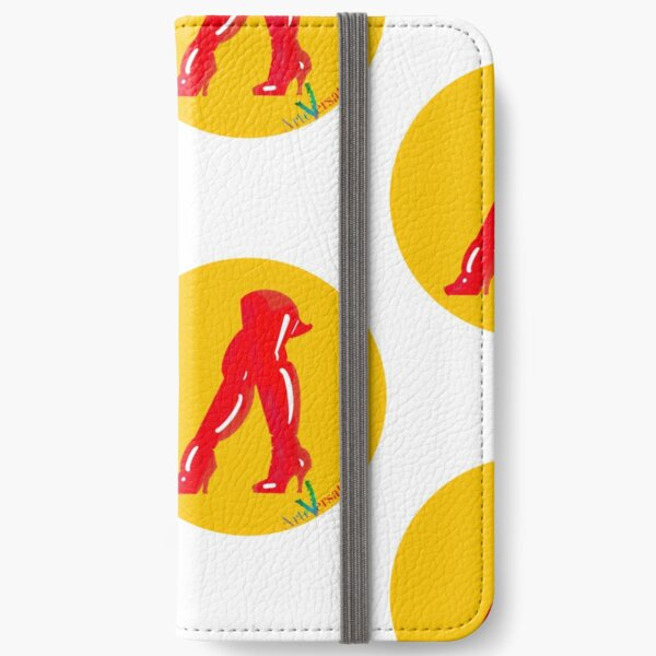 Red boots iPhone Wallet