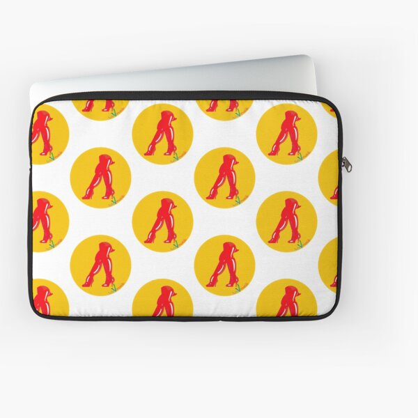Red boots Laptop Sleeve
