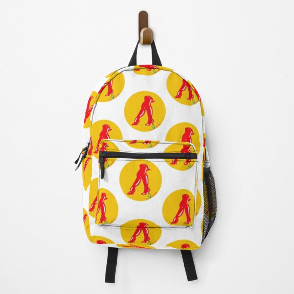 Red boots Backpack