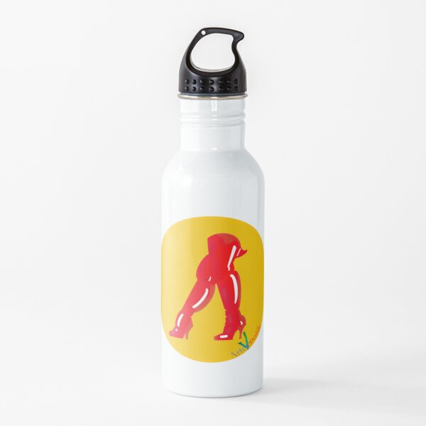 Red boots Water Bottle