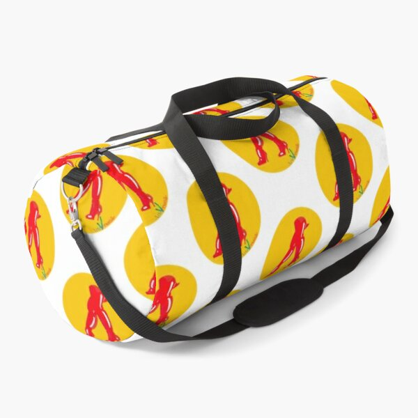 Red boots Duffle Bag